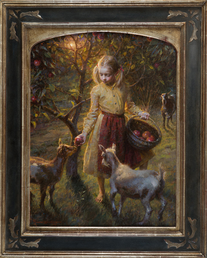 Apples and Goats, 32x24
