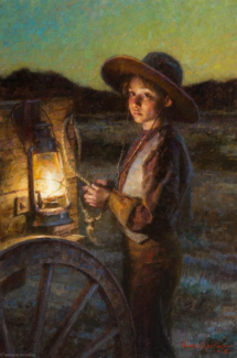 Night on the Prairie, 24x16