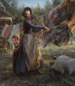 Spring Cleaning, 30x26