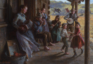 The Family Porch Band, 24x34