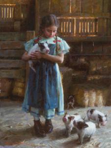 Pig Tales, 16x20