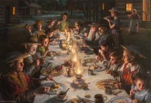 "Twilight Dinner - 30"" x 44"""